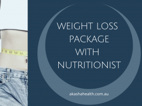 Weight Loss Package with Nutritionist