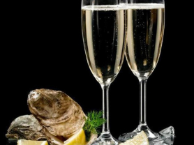 $140 Champagne and Oysters at Wharf Bar