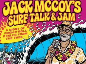 Jack McCoy's Surf Talk & Jam at DYRSL