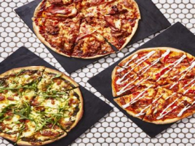 $15 Pizzas All Day Saturday & Sunday