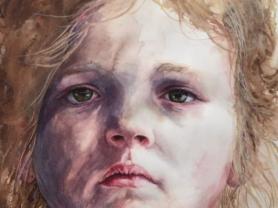 Paint A Large Scale Watercolour Portrait