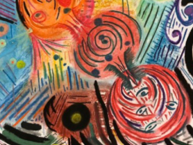 Teens Club - Ground Drawing and Colouring: Spiralling Out