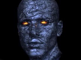 Teens Club - Sculpture: Future World Cyborg Heads
