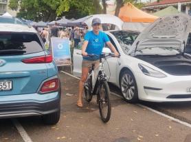 Electric Transport Expo: Village Green & Car Park