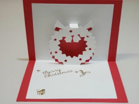 3D Card Making Workshop - Christmas