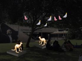 MarZoopials - Light Art Installation