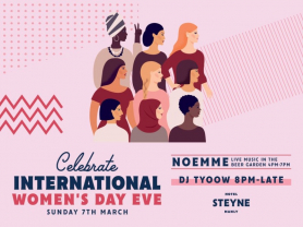 International Women's Day Eve at Steyne