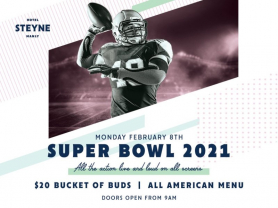 Watch Super Bowl LV at Steyne Hotel
