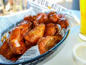 50 Cent Wings Every Wednesday!