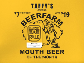 Beer of The Month at Oaks Hotel