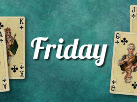 Weekly Friday Poker Game