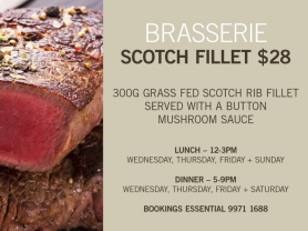 Scotch Fillet Steak $28