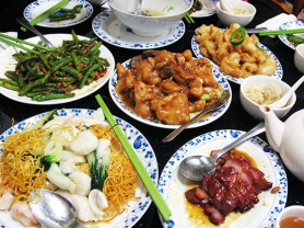 3 Course Banquet for 2 People Only $48, Think Local Deal, Oceanviews Asian Cuisine