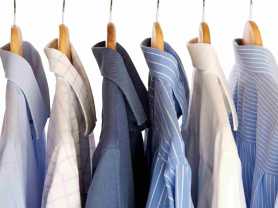 5 Shirts Laundered & Pressed: $19.50