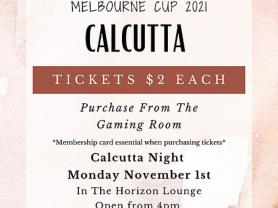 Melbourne Cup 2021 Calcutta Night
