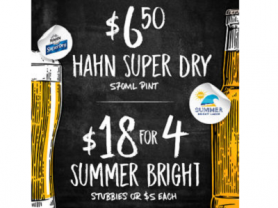 Daily Beer Specials