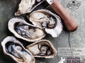 $12 Half Dozen Oysters