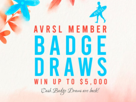 AVRSL Member Weekly Badge Draw