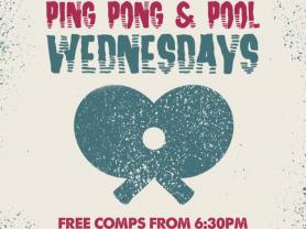 Pool & Ping Pong Wednesdays