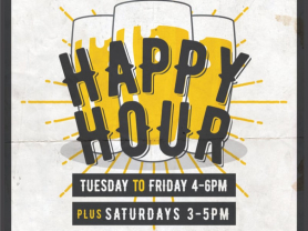 Weekly Happy Hour at AVRSL