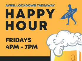 Lockdown Happy Hour 4pm - 7pm