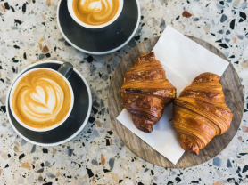 Large Coffees & Croissants for 2 $10!, Think Local Deals, Ganache Patisserie