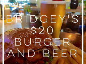 $20 Burger & Beer Every Thursday