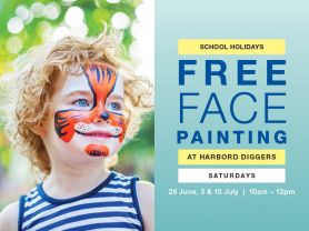 Face Painting Activity School Holidays