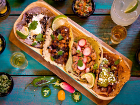 1/2 Price Dinner & Drinks for 2 Only $33, Think Local Deal, El Gusano Taqueria