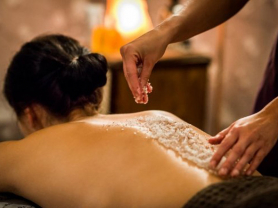 105 Min Body Scrub & Massage Pack $155