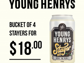 $18 Young Henry Stayer Bucket