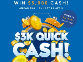 ANZAC Day Quick Cash at Forestville RSL