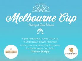 Melbourne Cup at Warringah Bowls