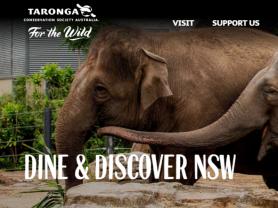 Redeem Your $25 Voucher At Taronga Zoo