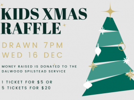 Christmas Kids Raffle at Balgowlah RSL