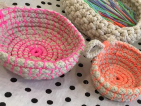 Crochet a Rope Bowl or Basket Workshop