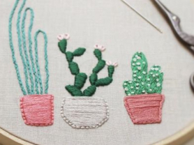 Hand Embroidery Beginners Workshop