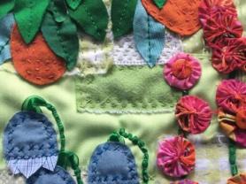 Slow Stitching Gertrude's Cottage Garden