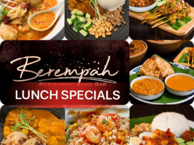 Berempah Newport: Lunch Specials $10!