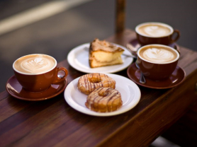 Mon-Fri: Coffee & Pastry Only $7!