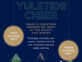 Christmas in Winter at The Alcott