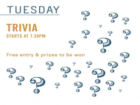 Tuesday Trivia: Free Entry and Prizes!