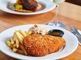Monday: $12 Schnitzels and Chips