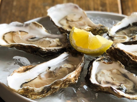 $2 Oysters on Friday 4-6pm
