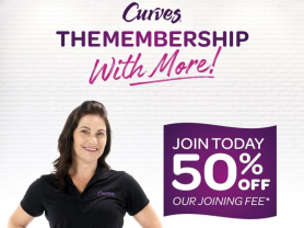50% Off Joining Fee at Curves Mona Vale