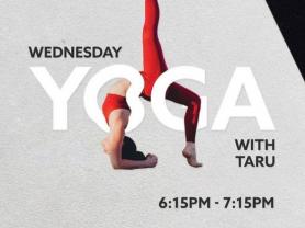 Free Yoga Wednesdays