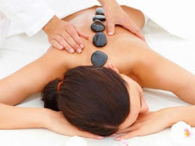 Hot Stone Back & Leg Massage only $69