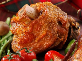 Crispy Pork Knuckle and Fried Rice $36.5
