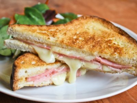 2-4-1 Toastie & Large Tea/Coffee $10.50
