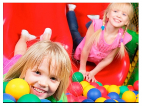 Entry for 2 & Free Zooper Doopers $10!, Think Local Deal, Cheeky Monkeys Play House